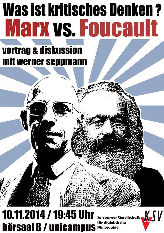 Marx vs Foucault
