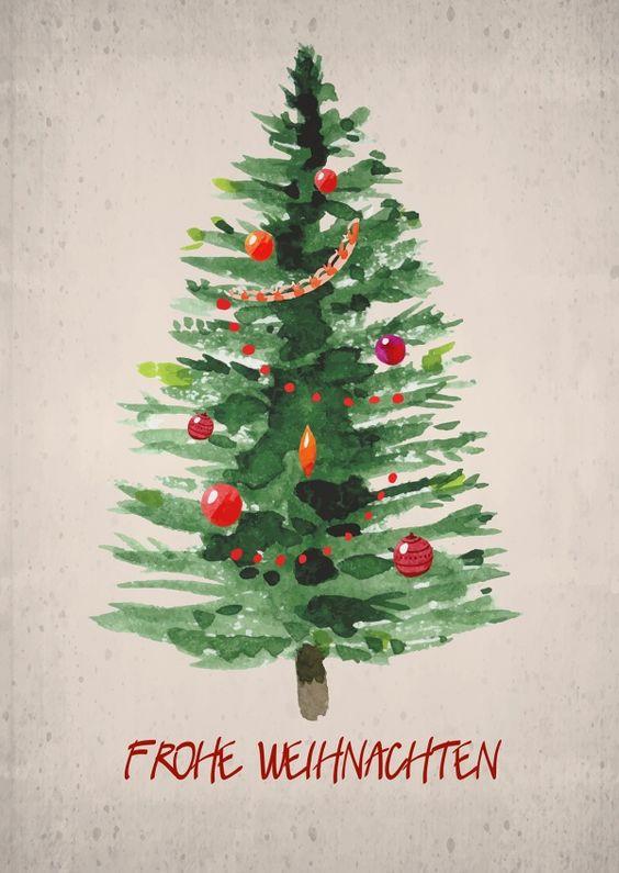 Ευχές για Καλά Χριστούγεννα! // Frohe Weihnachten!