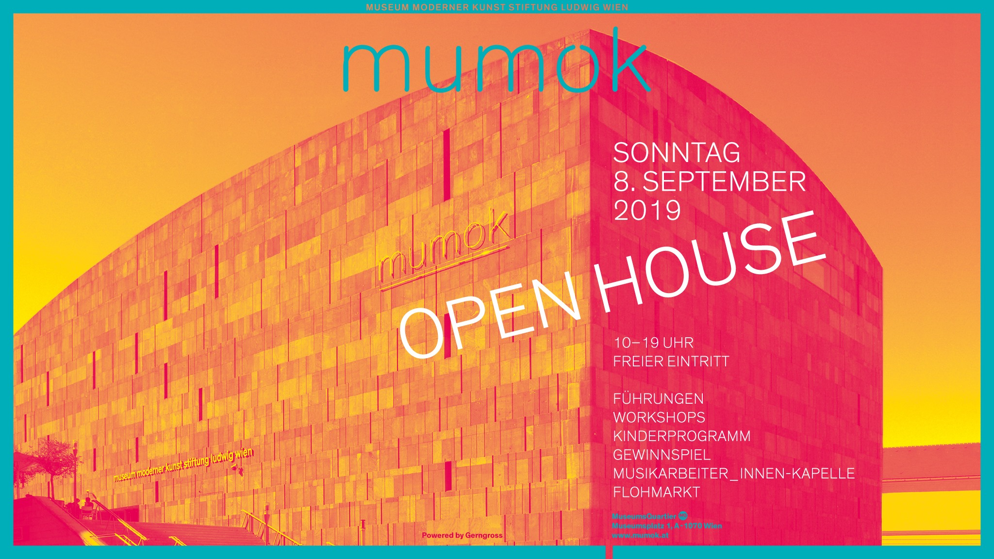 Μumok – Tag der offenen Tür