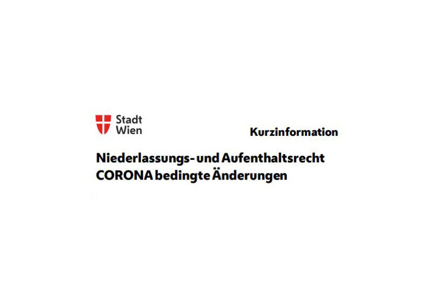 Δικαίωμα διαμονής και άδειας παραμονής – αλλαγές λόγω του COVID-19