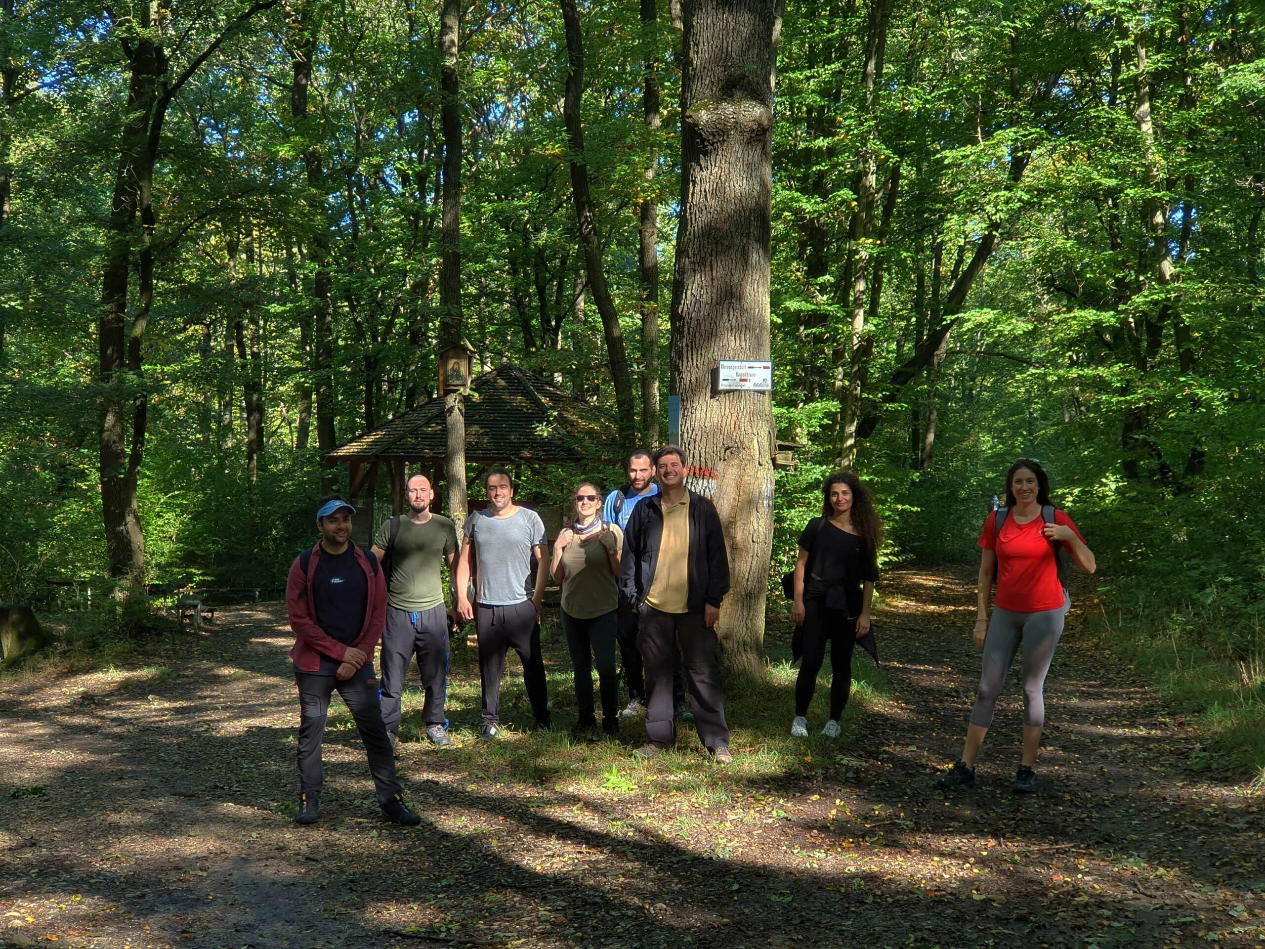 Φωτογραφίες πεζοπορίας: Strebersdorf – Stammersdorf